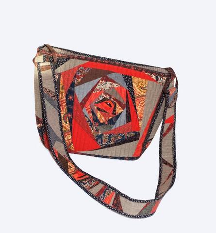 сшить сумку через плечо выкройка с размерами